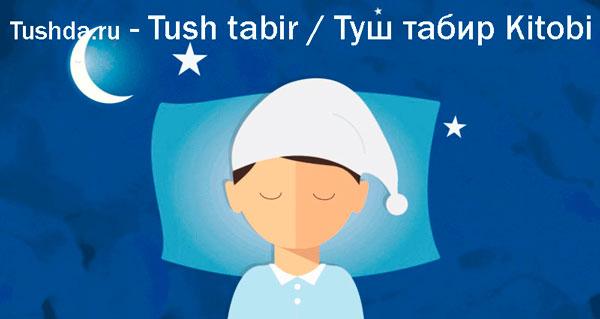 Tushda.ru — Tush tabiri / Туш табир Kitobi
