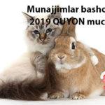 Munajjimlar bashorati 2019 QUYON muchali