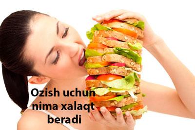 Ozish uchun nima xalaqit beradi