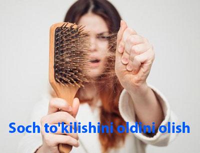 Soch to'kilishini oldini olish