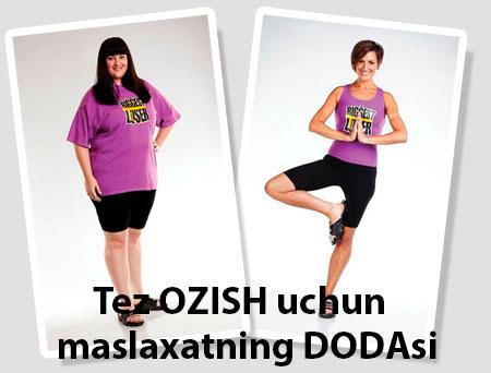 Tez OZISH uchun — maslaxatning DODAsi