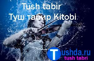 Tushda ko'rsa