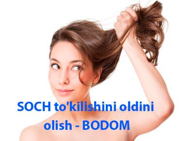 SOCH to'kilishini oldini olish - BODOM