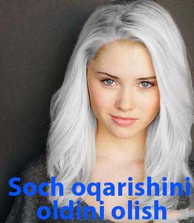 Soch oqarishini oldini olish