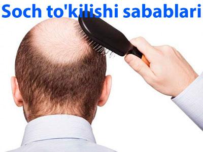 Soch to'kilishi sabablari