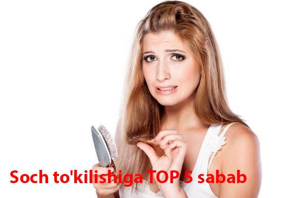 Soch to'kilishiga TOP 5 sabab